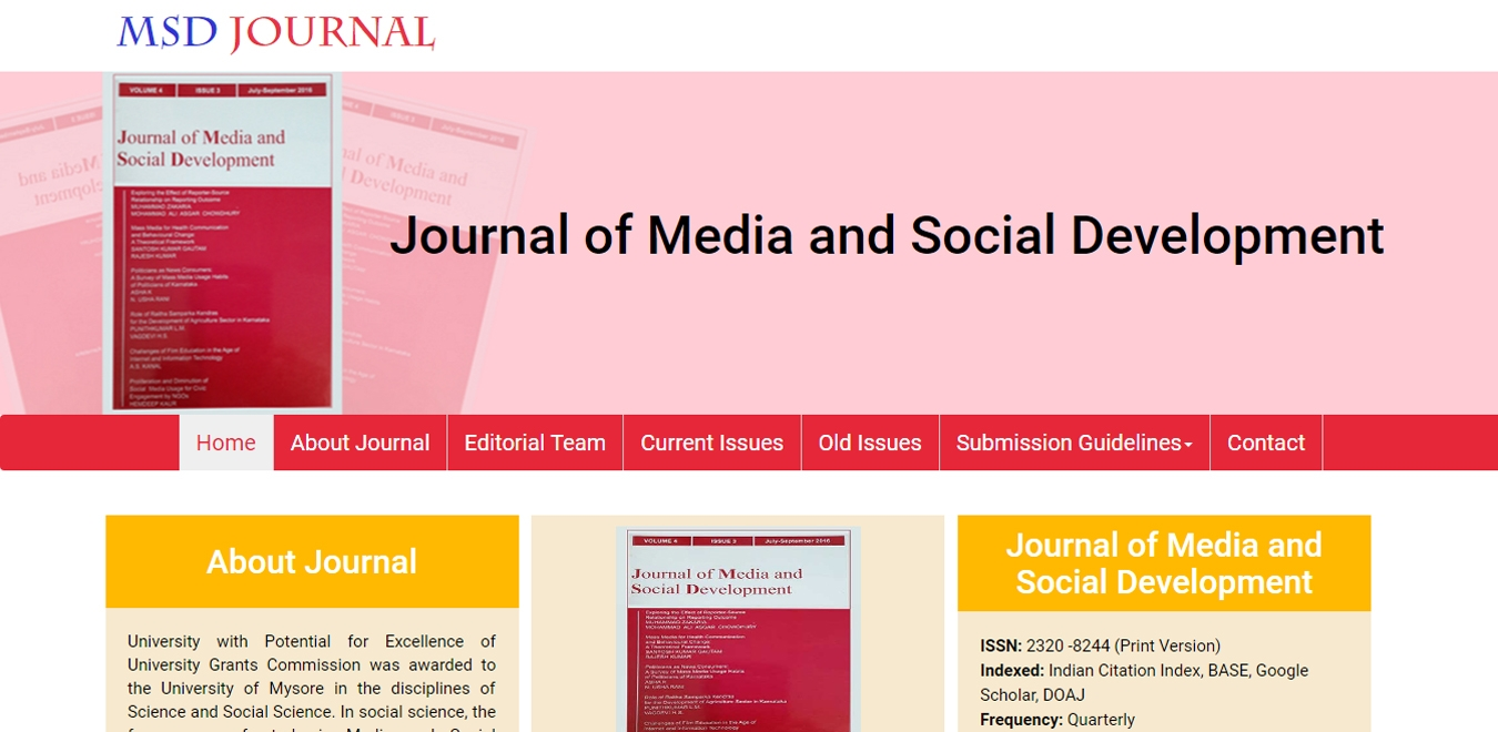 MSD Journal