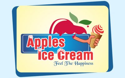 Apples Ice Cream